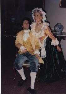 """Federico Corda e Anna Da Malta ne """"la pupilla"""" regia di Anna Da Malta"""