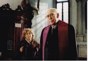 """Anna Da Malta e Ordst Tapper in """"il cardinale"""""""