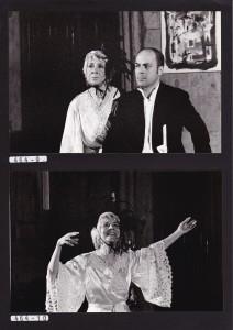 """Anna Da Malta e Federico Corda in """"delirio a due"""" di Ionesco"""